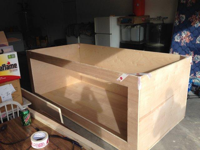 My 720 Gallon Plywood Build